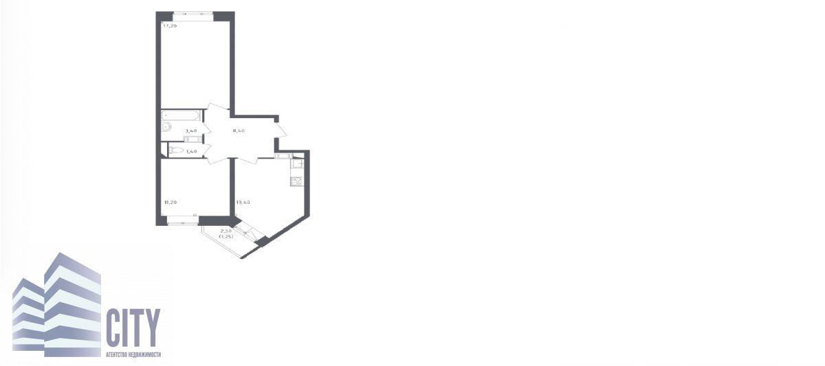 Квартира на продажу по адресу Россия, Московская область, Люберецкий р-н, Люберцы, Камова ул, 11
